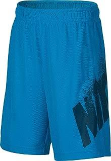 Boy`s Lebron Hyper Elite Basketball Shorts (X-Large, Equator Blue(893573-482)/Black)