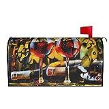 Cubiertas de buzón magnéticas de otoño Cubiertas de buzón de correo de otoño Cubiertas de buzón, diseño, Cubiertas de buzón magnéticas para jardín, tamaño único