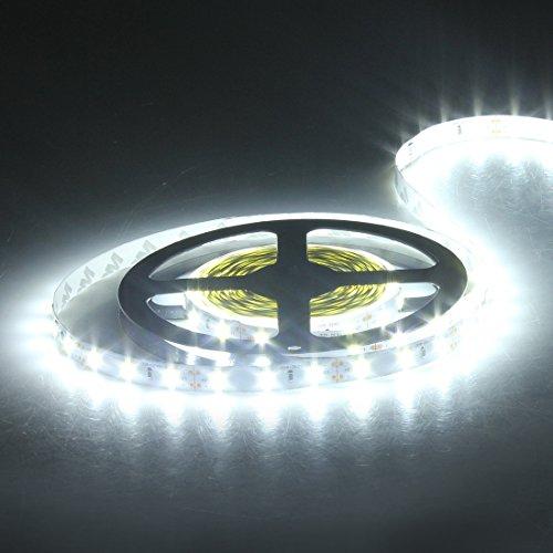 Homeking Super hell 5M 300 SMD 5630 LED Strip Streifen Leiste Band Lichterkette weiß