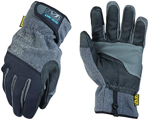 Winter Work Gloves for Men by Mechanix Wear: Wind Resistant - Insulated with 3M Thinsulate, Touchscreen, Abrasion Resistant (XX-Large, Black/Grey)