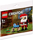 LEGO 30573 Creator - Juego de construcción, diseño de Papá Noel, Multicolor