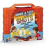 Hasbro Gaming- Hundir La Flota Shots Juego de Estrategia, Multicolor (E8229)