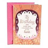 Hallmark Mahogany Birthday Card for Daughter (I Celebrate You)