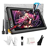 Drawing Monitor, XP-Pen Artist 15.6 Pro Drawing Monitor, Full-Laminated Display with 120% sRGB, 8192 Level Pen Tilt Function, Built-in Tablet Stand with Sleeve Case /Brush /Glove for Digital Artwork