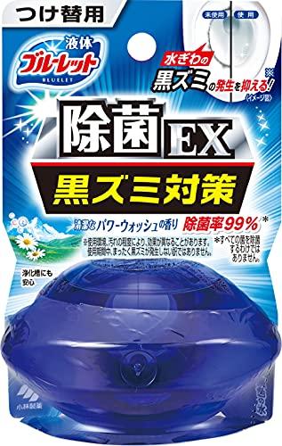 液体ブルーレットおくだけ除菌EX トイレタンク芳香洗浄剤 詰め替え用 パワーウォッシュの香り 70ml