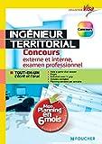 Ingénieur territorial - Concours externe et interne, 3e voie, examen prof - Tout en un écrit et oral