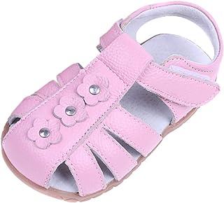 Daringjourney Unisex beb/é ni/ño Lindo Oruga Antideslizante beb/é Zapatos de beb/é con Sandalias Antideslizantes de Playa de Doble Uso con Fondo Suave 18-29 Yardas 0-5 a/ños de Edad