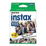 Fujifilm instax WIDE - Película fotográfica instantánea de gran formato (2 x 10 hojas)