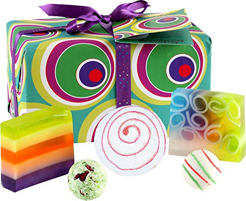 Bomb Cosmetics Funkadelic Handmade Wrapped Bath & Body Gift Pack [Contains...