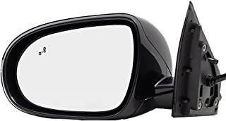 BROCK Side View Mirror for 2016-2018 Kia Sorento Driver Replacement Heated Signal Memory Power Folding Blind Spot Detection fits 87610C6010 87610 C6010