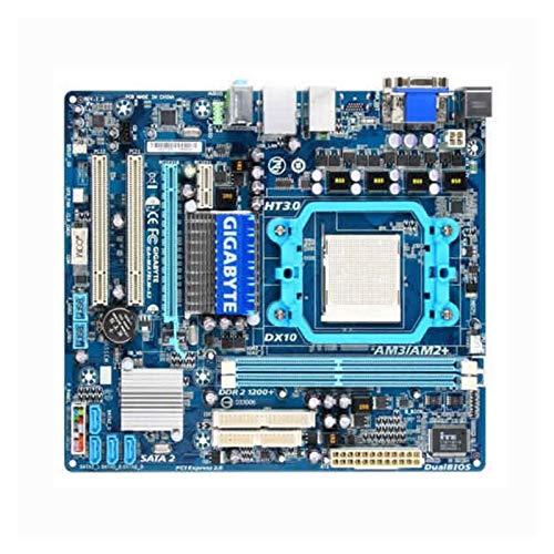 WWWFZS Placa Base Ajuste Fit For Gigabyte GA-MA78LM-S2 Tablero De Escritorio MA78LM-S2 760G Slot AM2 DDR2 Micro-ATX Computer Motherboard