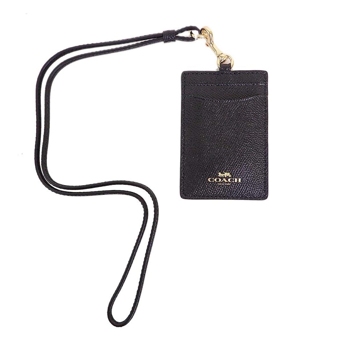 自宅で即席専門コーチ パスケース IDケース ブラック系 F57311 [新品]並行輸入品 [並行輸入品]