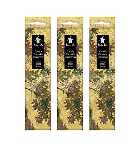 Tierra Zen Lot de 3 Cannelle d'encens KOH Do Taille Unique