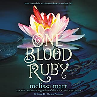 One Blood Ruby audiobook cover art
