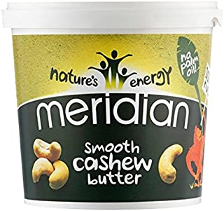Meridian 1Kg Natural Cashew Butter Smoothies
