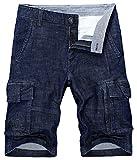 Redbridge da Uomo Pantaloncini Pantaloni Corti Jeans Denim Estate di Bermuda Shorts (W 42/...