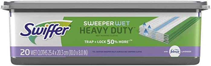 Swiffer Sweeper Heavy Duty Drying Cloths - 20ct Multicolor
