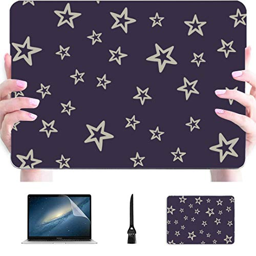 Mac Book Pro Cases Cute Different Stars Plastic Hard Shell Compatible Mac Air 13' Pro 13'/16' Macbookpro Case Protective Cover for MacBook 2016-2020 Version