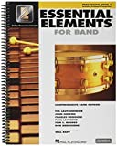 Essential Elements 2000 – Percussion Book 1 (Book/CD-ROM) Spartiti, CD-ROM per Xilofone, Marimba, Batteria, Percussione, Vibrafono, Xilofono