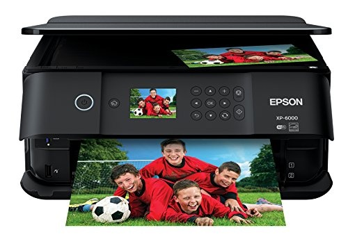 Epson Expression Premium XP-6000 Wireless Color Photo Printer with Scanner & Copier, Amazon...