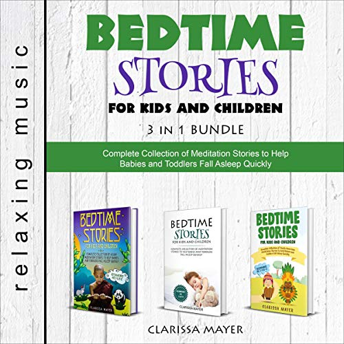 Bedtime Stories for Kids and Children: 3 in 1 Bundle cover art