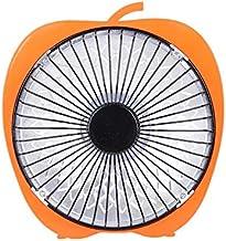 Libertroy Winter Mini Solar Creative 6 Pulgadas Cartoon Calefactor eléctrico Oficina Escritorio Calefactor Calefactor pequeño Naranja - Colorido