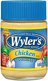 Wyler's Instant Chicken Bouillon Powder (2.25 oz Jars, Pack of 24)