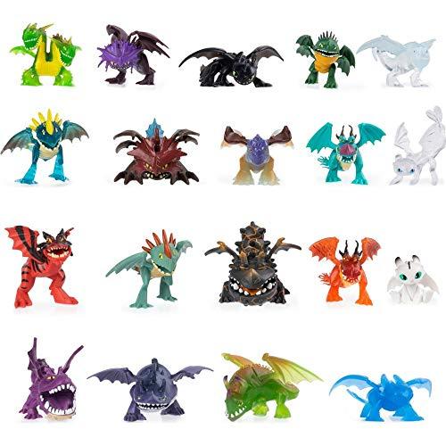 Dreamworks Dragons 6054807 Legends Evolved, Mystery Dragon Mini-Sammlerfigur (verschiedene Modelle)