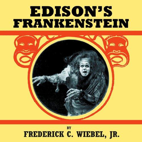 Edison's Frankenstein audiobook cover art
