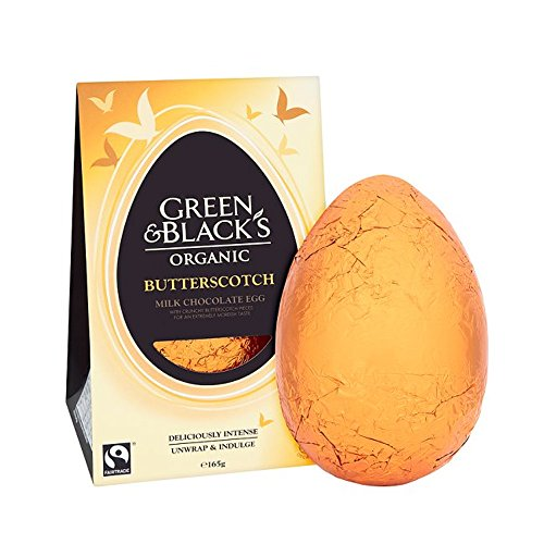 Green & Black's Organic 165g Butterscotch Easter Egg