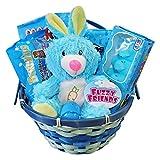 Blue Premade Easter Basket for Boys Gift Set with Adorable...