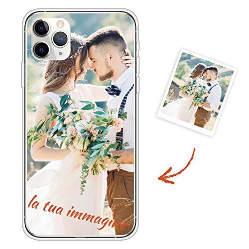 Suhctup Personalizzata Cover per Xiaomi Redmi Note 9 Pro TPU Silicone Ultra Sottile Morbido Custodia, Personalizzabile con Foto, Immagine, Testo, Loghi, Scritta Stampa Protettiva Case