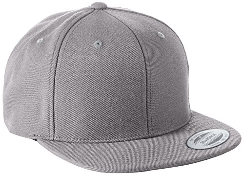 Yupoong Unisex Classic Snapback Cap Kappe, silver, Einheitsgröße