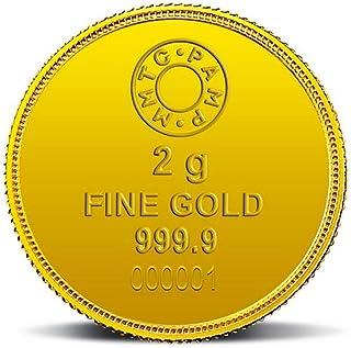 MMTC-PAMP Lotus 24k (999.9) 2 gm Gold Coin