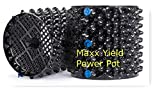 MaXX Yield Power Pot' 6 Pack! of 3 Gallon Equivalent Air Root Pruning Flower Pots (Aprox Volume 2.2 Gallons)