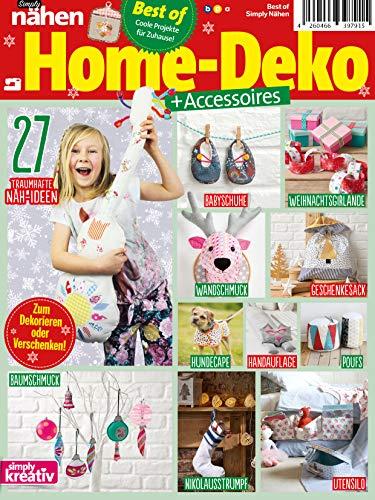 Simply Nähen Best of Home-Deko + Accessoires: Coole Projekte für Zuhause!