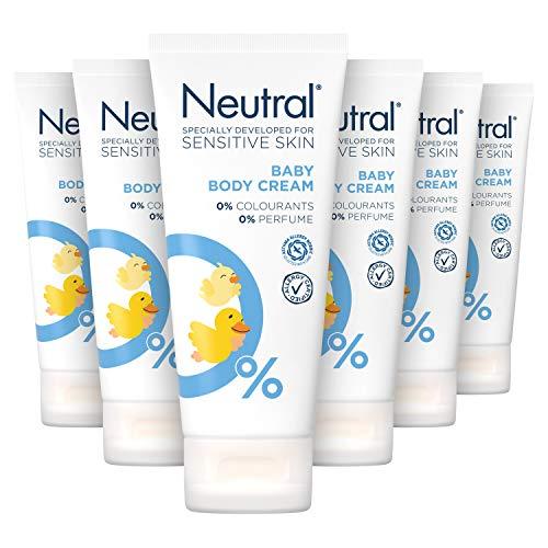 Neutral Baby Crème Parfumvrij 6 x 100 ml Voordeelverpakking