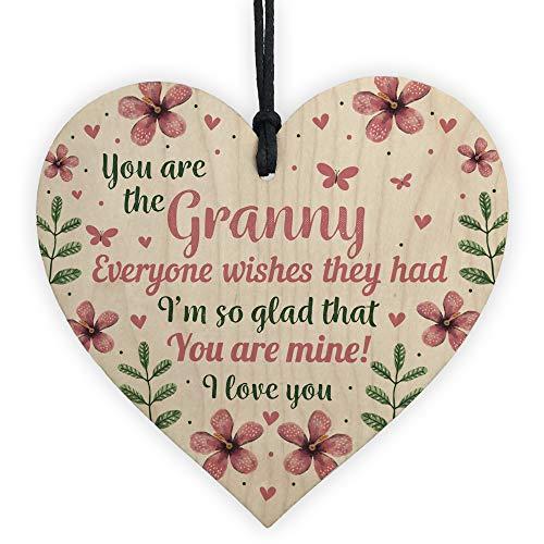 RED OCEAN Nan Nanny Nanna Nan Gran Granny Birthday Mothers Day Grandmother...