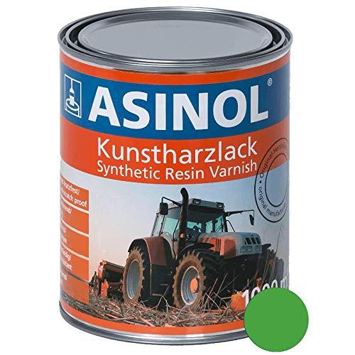 ASINOL DEUTZ GRÜN NEU 1000 ml Kunstharzlack Farbe Lack 1l Liter Dose