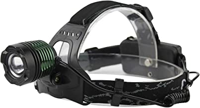 Led-koplamp, 3-modus, zoom, koplamp, oplaadbare kop, fakkel, camping, zaklamp, jacht, frontale lantaarn