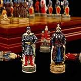 Ryyland Juegos De Ajedrez Llegada Resina Mu?eca Juego De Ajedrez Ruso Mongolia Guerra Tema Juego De Ajedrez Chinchakhan Y La Guerra del Principado Juego