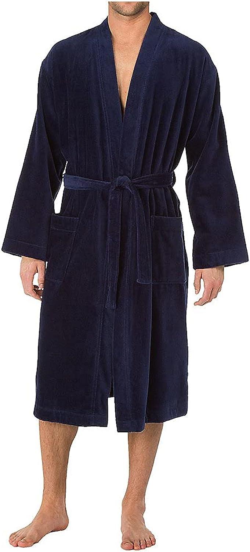Calida Men's After Shower Comfort Fit Robe 68510