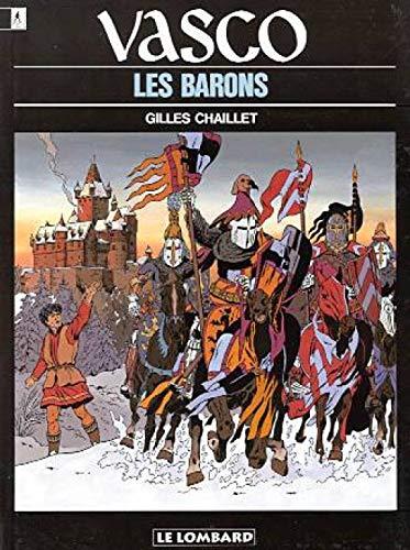 Vasco - tome 5 - Barons (Les)