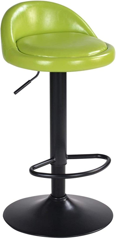 Bar Stool Bar Chair High Stool redating Bar Stool Back Stool FENPING (color   C)