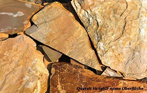 Polygonalplatten Quarzit