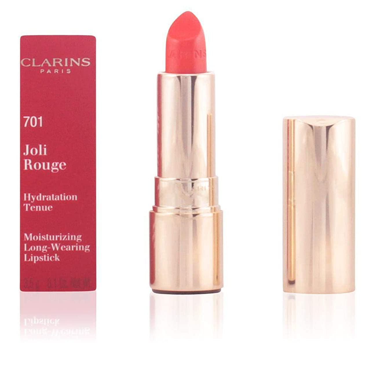 クラス体チューインガムクラランス Joli Rouge (Long Wearing Moisturizing Lipstick) - # 741 Red Orange 3.5g/0.1oz