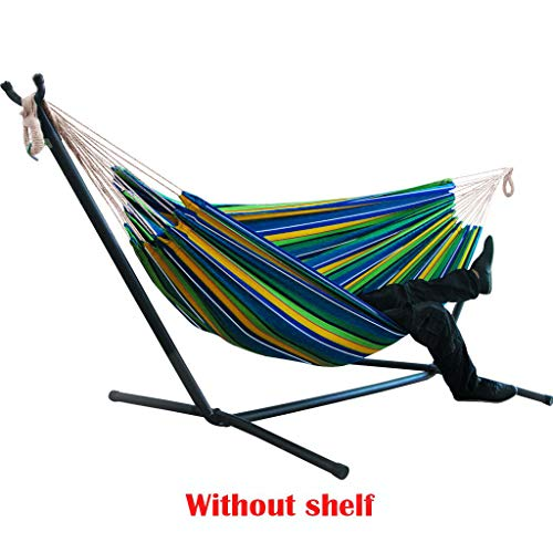MOKAO Camping Hammock Double & Single Portable Hammocks with Tree Straps, Lightweight Parachute Hanging Chair for Backpacking Travel Beach Backyard Patio Hiking