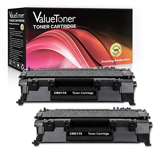 ValueToner Compatible Toner Cartridge Replacement for Canon 119 High Yield (2 Black) for Canon ImageClass LBP6300dn LBP6650dn LBP6670dn M6160dw MF5850dn MF5880dn MF5950dw MF5960dn MF6180dw