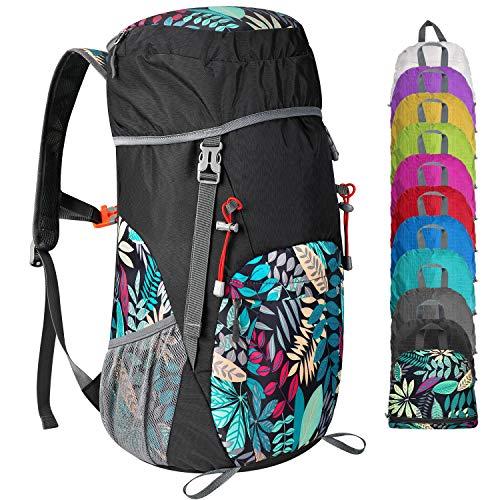 G4Free 35L/40L Rucksack Foldable Hiking Backpack Ultra Lightweight...