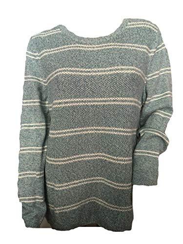 Talbots Classic Crewneck Sweater Striped Pullover Tunic Size XL P